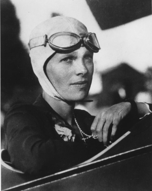 Amelia Earhart was the first woman to fly solo across the Atlantic