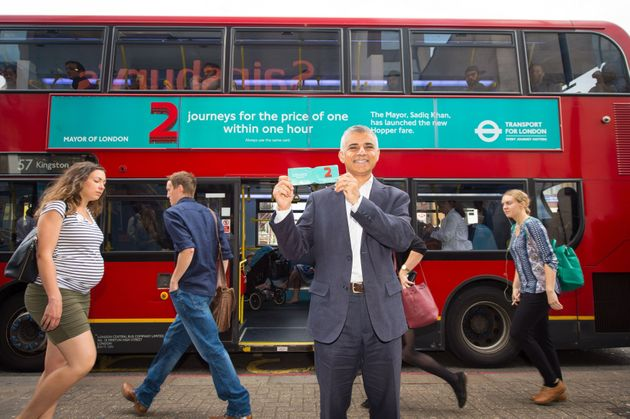 The TFL hopper ticket, introduced by Mayor Of London Sadiq Khan, allows fortwo bus journeys in...