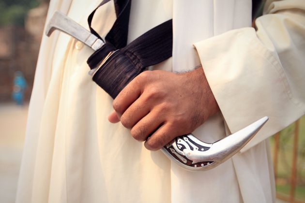 The kirpan is among the five symbols of faith worn by