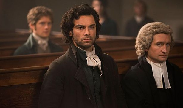 Ross Poldark was fighting for his life at the Bodmin