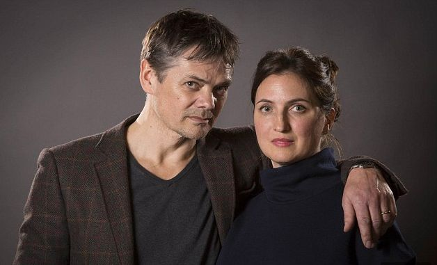 Louisa Patikas who plays Helen, with Timothy Watson who plays