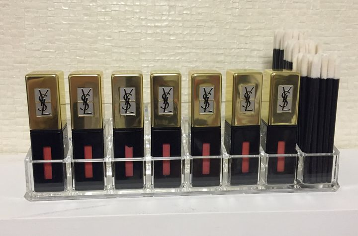 The YSL lip bar in the Julien Farel Style Suite.