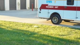The heart was found by outside a shopping mall on Aug 25 by North Central EMS employees