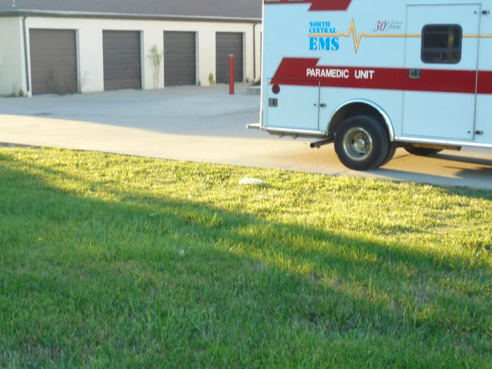 North Central EMS employees found the heart outside of a shopping mall on Aug. 25, police said.