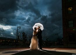 21 Real Weddings That Sparkled Through Rain And Shine