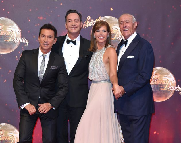 Craig with his fellow 'Strictly