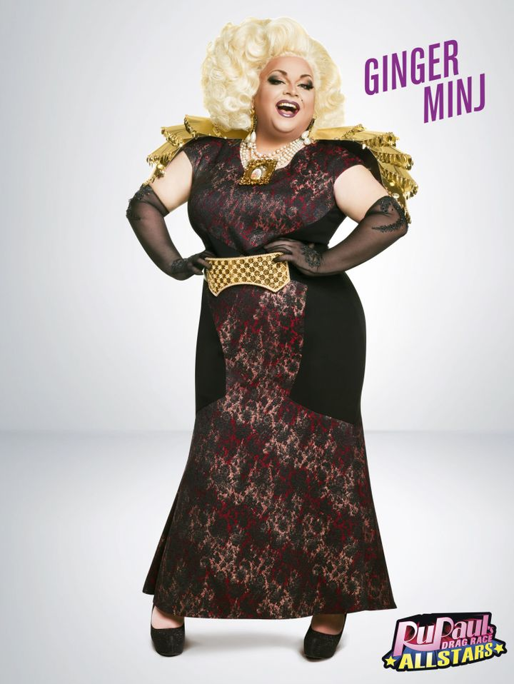 """""""Theater is my passion, my entire life, and it lead me to drag. I hope for more opportunities,"""" Ginger Minj said."""