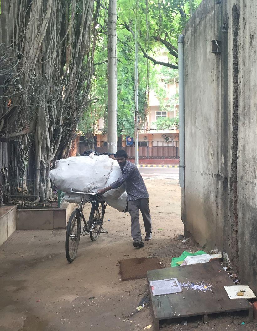 Ragpicker, Delhi, India