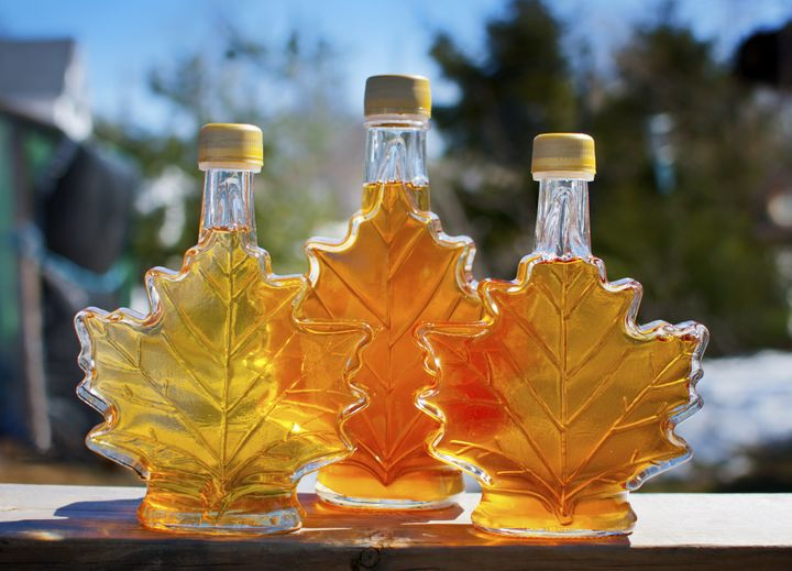 Make sure your maple syrup is the real thing.