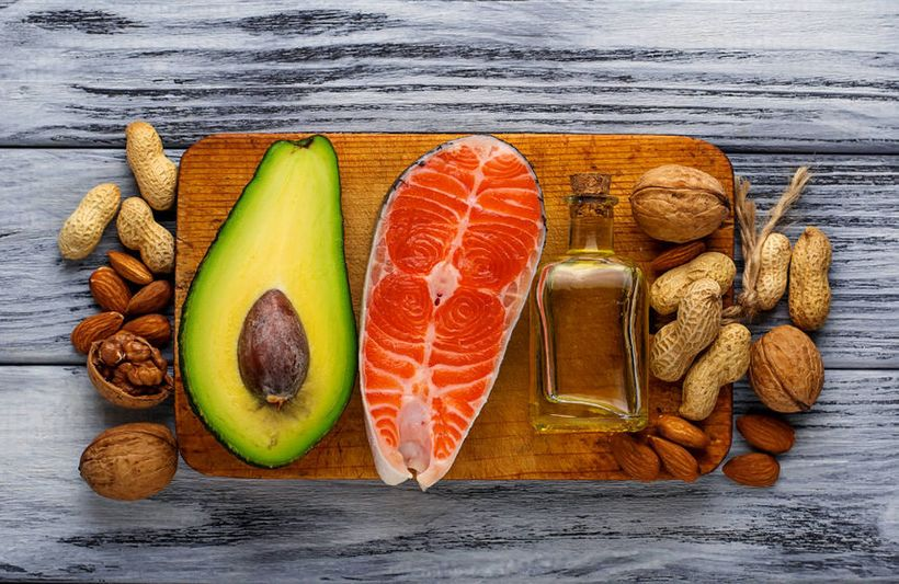 Healthy fats can fight the appearance of wrinkles.