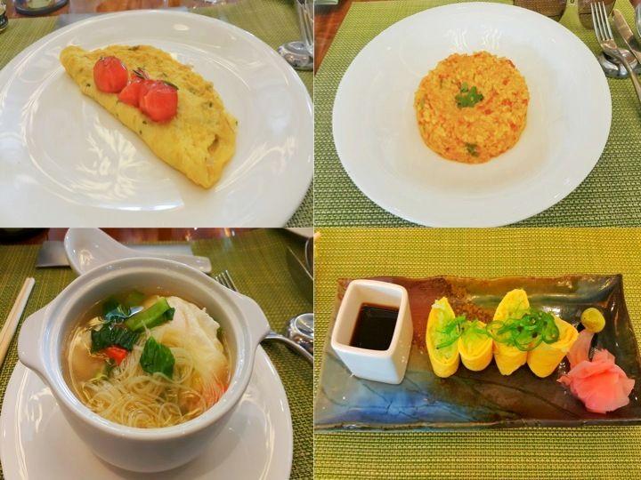 The Zest restaurant offers international cuisines all day long