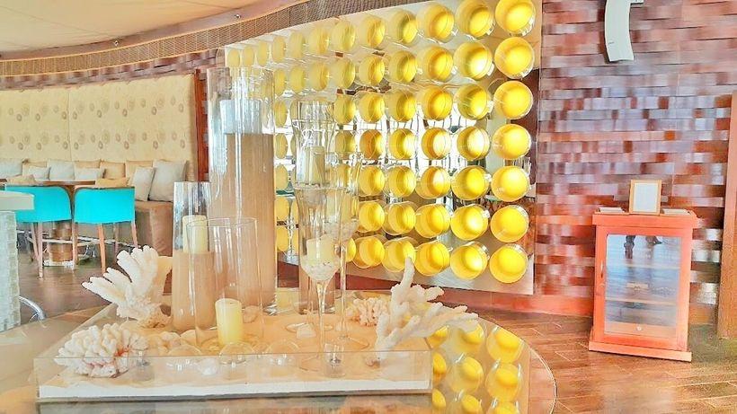 Chic and modern bar interiors