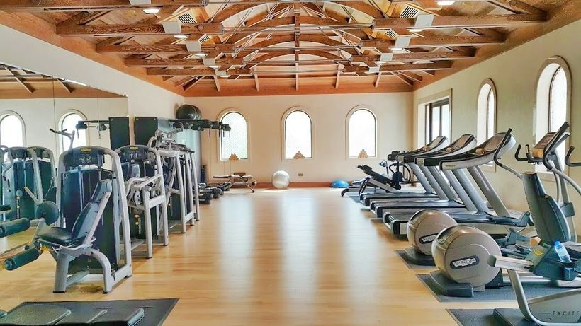 A gym for fitness enthusiasts
