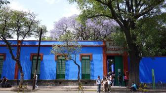 Frida Kahlo Museum The Blue House Mexico City