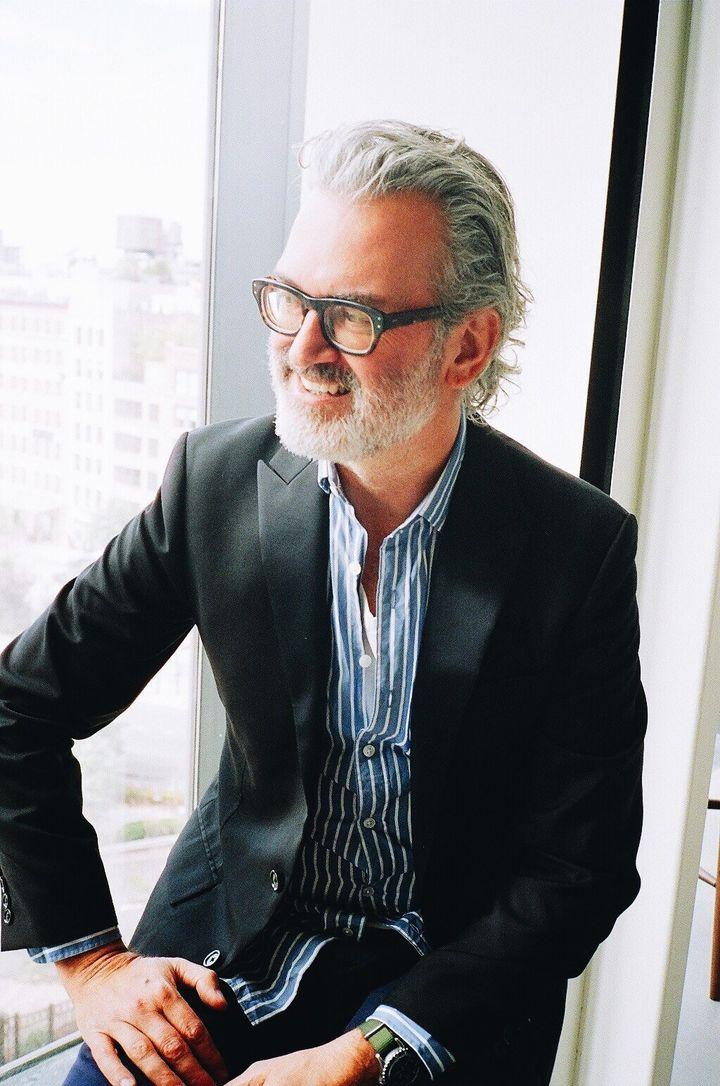 Frank Muytjens, head of menswear design at J.Crew, is pro pink.