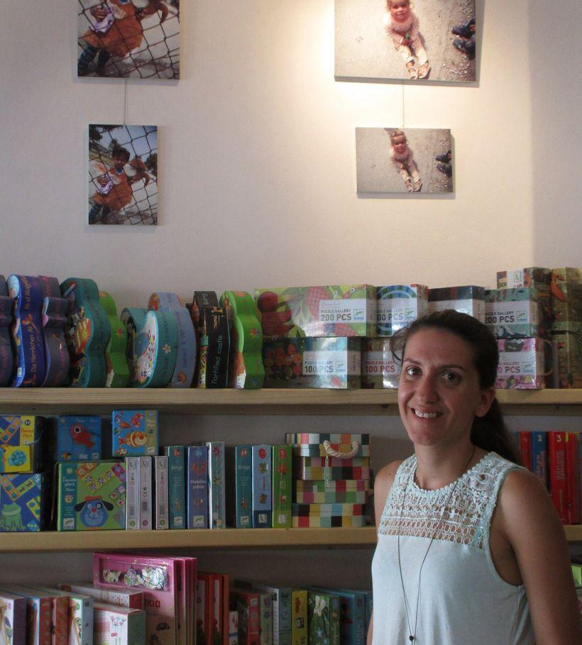 Owner of Books and Art in Mytilene, Lesvos Island