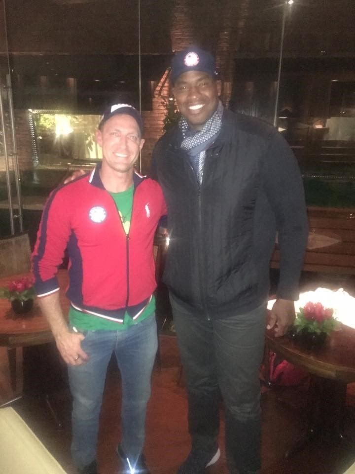 Charley Walters and Jason Collins