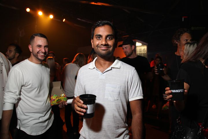 Aziz Ansari sippin' Don Julio Tequila at the Alexander Wang after-party. 🍹