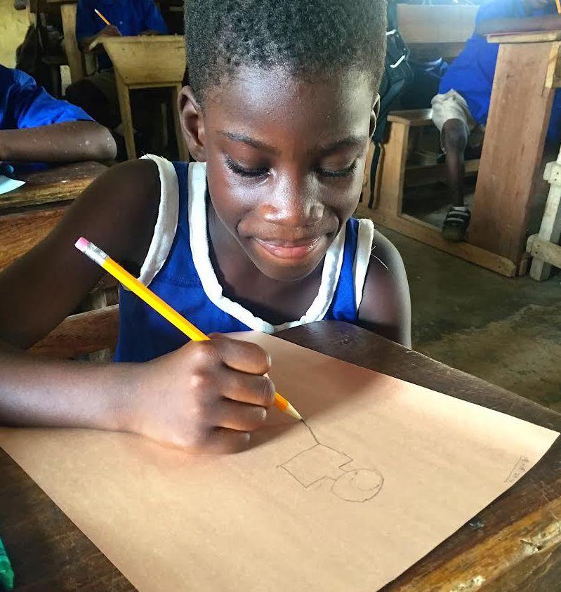 Art of Hearts Workshop, Dodowa, Ghana (January 2016).