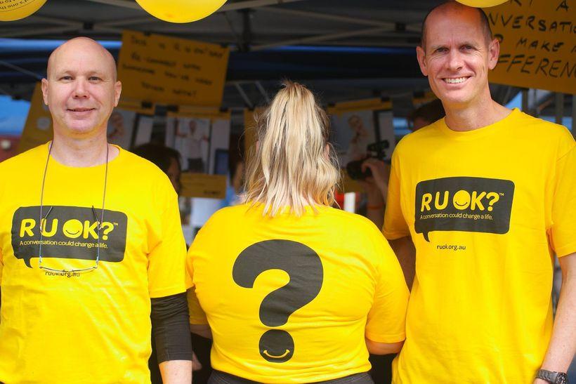 R U OK? team in Western Australia