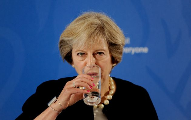 Theresa May has been accused of watering down