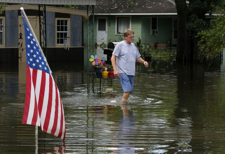 Climate change makes occurrences like the devastating August floods in Louisiana -- the worst natural disaster in the U.