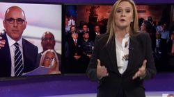 Samantha Bee Rips 'Human Splenda' Matt Lauer, And It's
