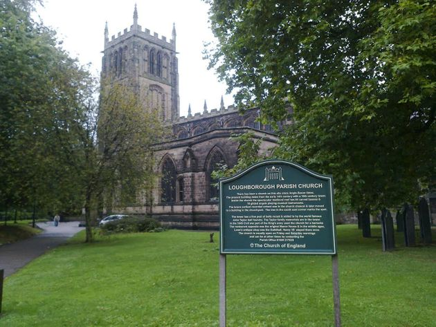 A number of graves have been disturbed at the 13th century church in Loughborough,