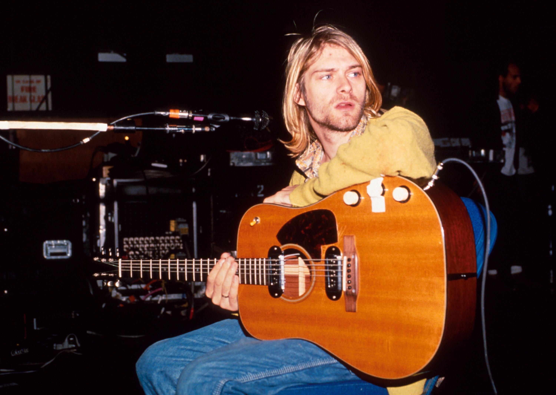 Kurt Cobain of Nirvana (Photo by Kevin Mazur/WireImage)