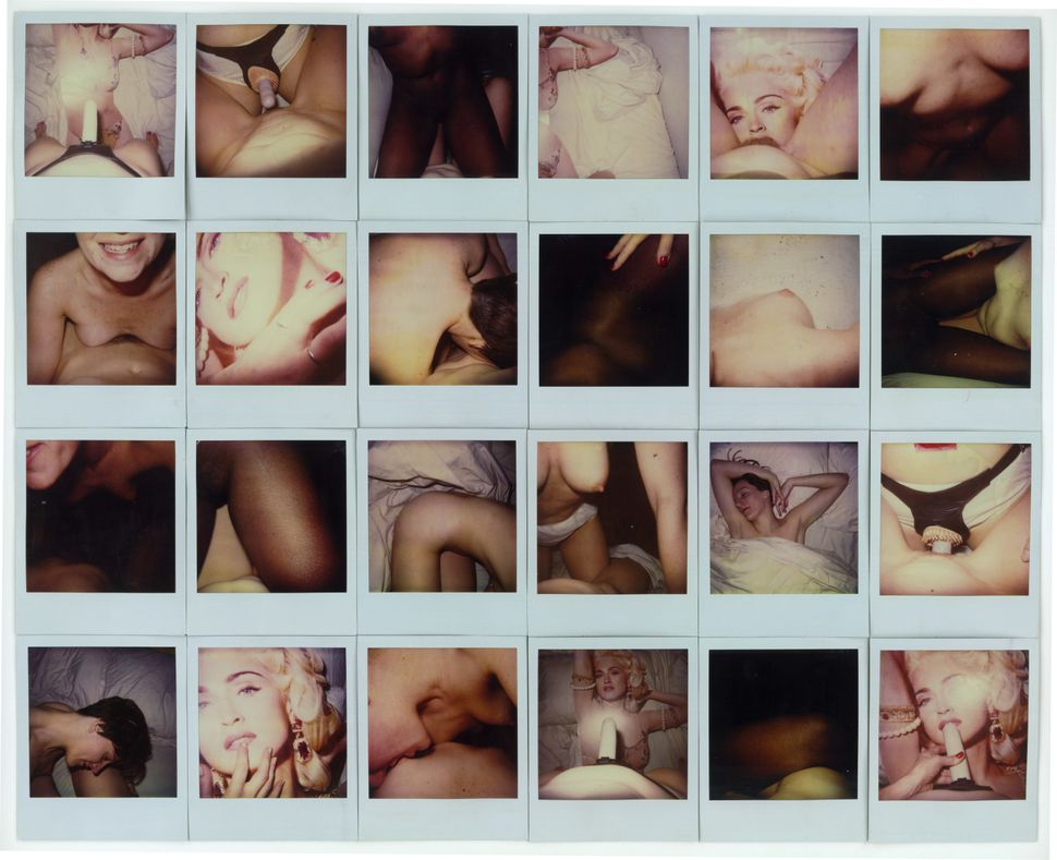 "Patricia Cronin, ""girls,"" 1993, 24 color polaroids mounted on board"