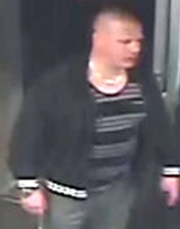 Police want to speak to this man about an assault on a pregnant woman that resulted in her losing her