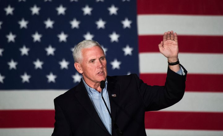 Indiana Gov. Mike Pence is going to have to do something about the angry immigrants and transgender people in his state if he
