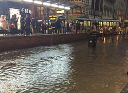 Flash Floods Hit Manchester, Airport And Champions League Affected