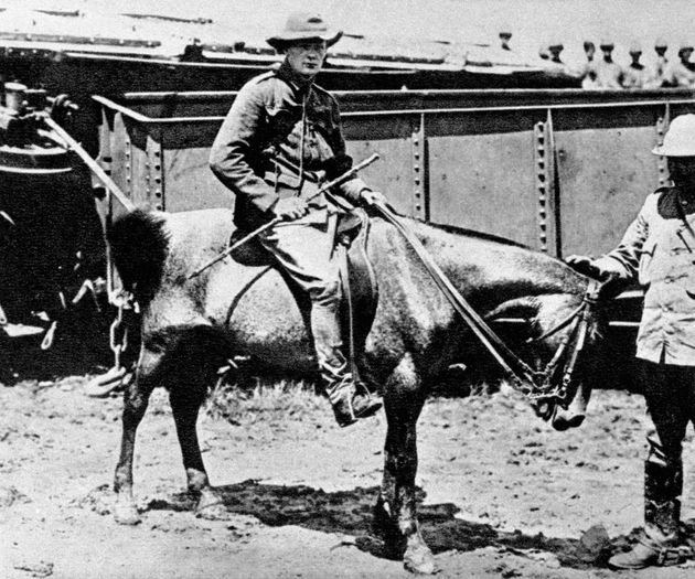 Winston Churchill in South Africa as a war correspondent for the Morning Post during the Boer