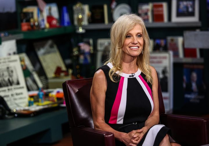 "Kellyanne Conway said that media coverage of female candidates' appearance was ""disgraceful."" She's now Donald Trump's campai"