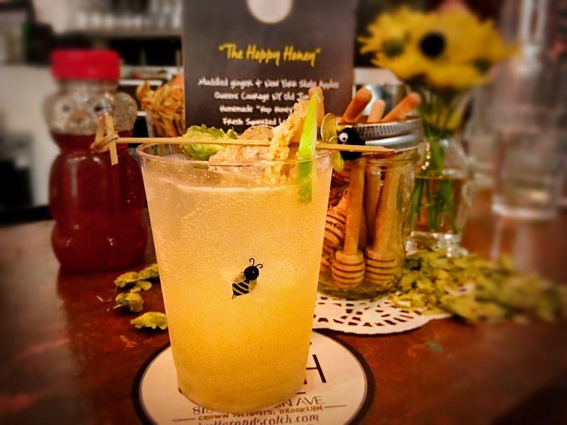 """""""The Hoppy Honey"""" wins best cocktail"""