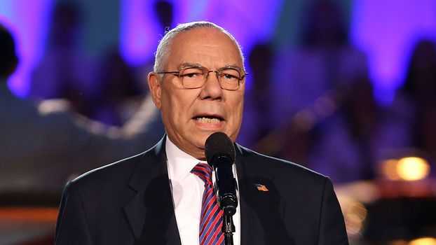 Powell denounces T rump
