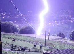 The Most Dramatic Pictures From Last Night's Storm From Across The UK
