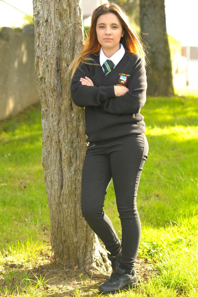 Senior Girls Trousers Find your school's senior girls school trousers here. Our Clothing4 Schools online school uniform shop stocks a broad range of school uniforms and schoolwear for schools and academies across Staffordshire and Derbyshire.