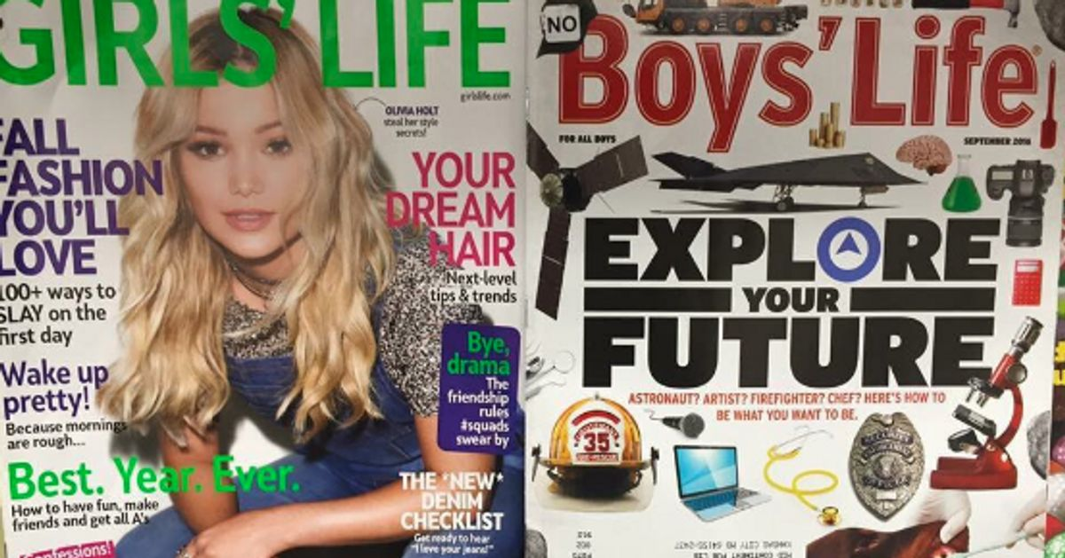 Artist Redesigns Cliche And Sexist Girls Magazine Cover With