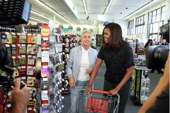 Ellen and Michelle take CVS.