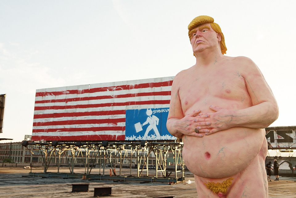Artists Will Not Stop Tormenting America With Nude Trump