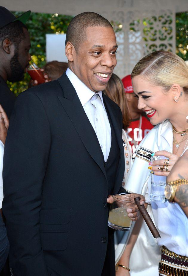Jay Z and Rita Ora in