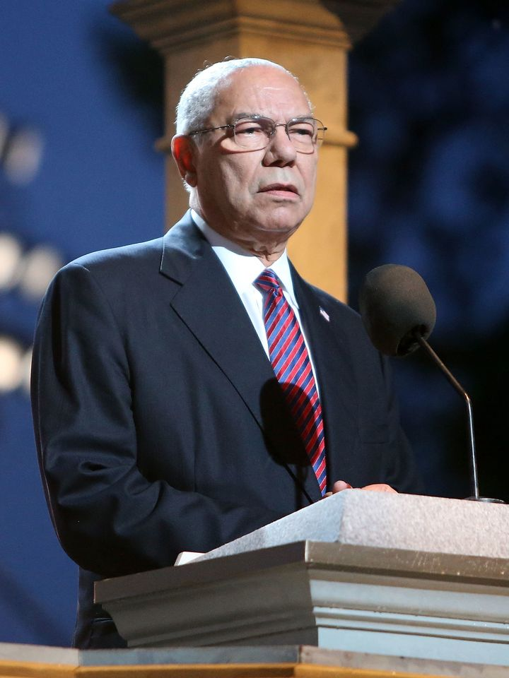 Colin Powell complainedin private messages about Hillary Clinton's email issues.