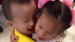 Best Friends From Chinese Orphanage Reunite In Beautiful Adoption