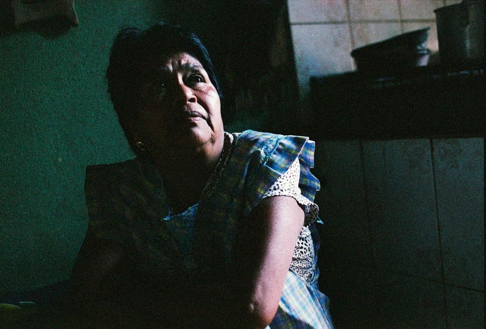 Romana, mother of missing student José Ángel Campos Cantor, at home in Tixtla, Guerrero, on March 2, 2015.