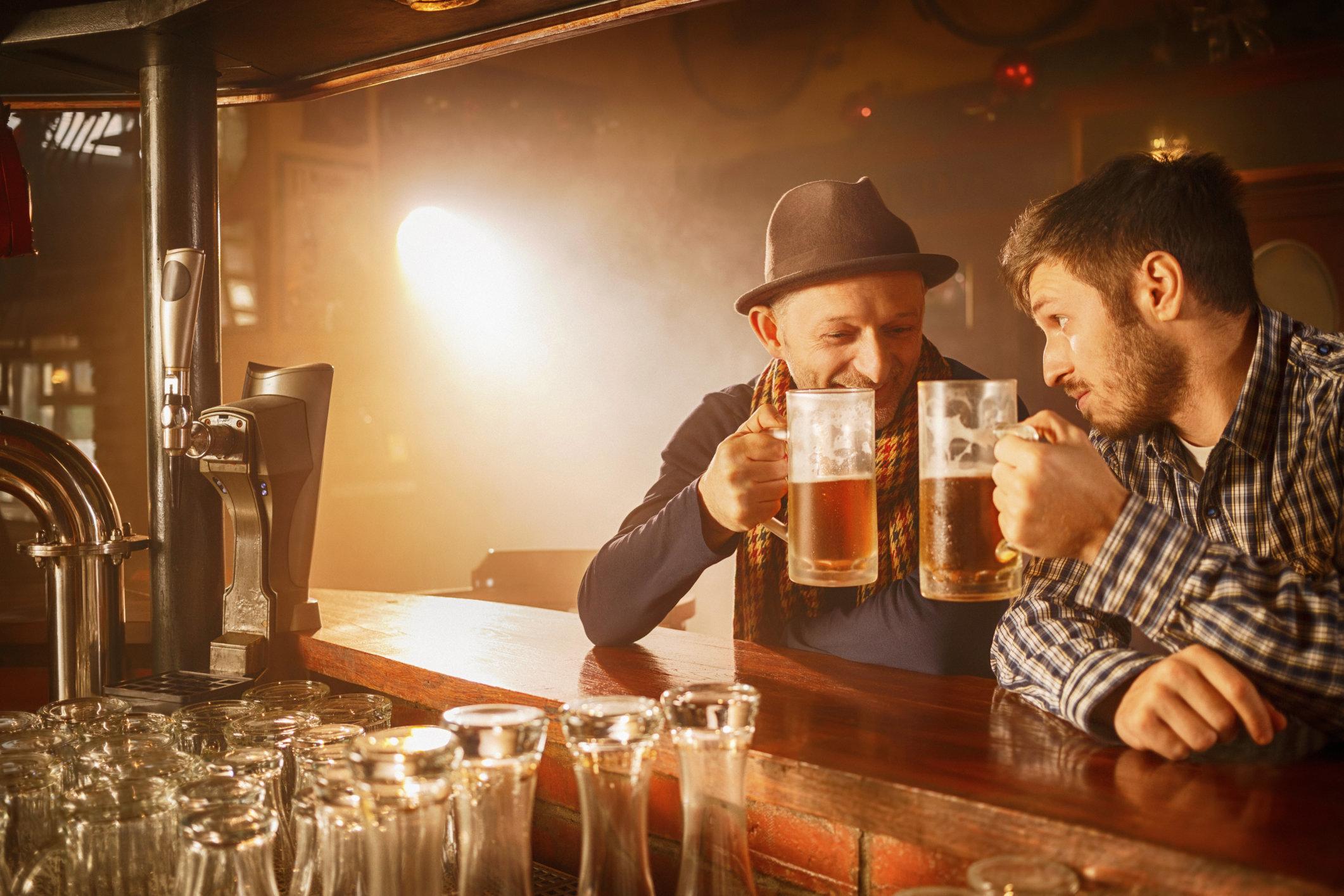 Sober People Make Drinkers Feel