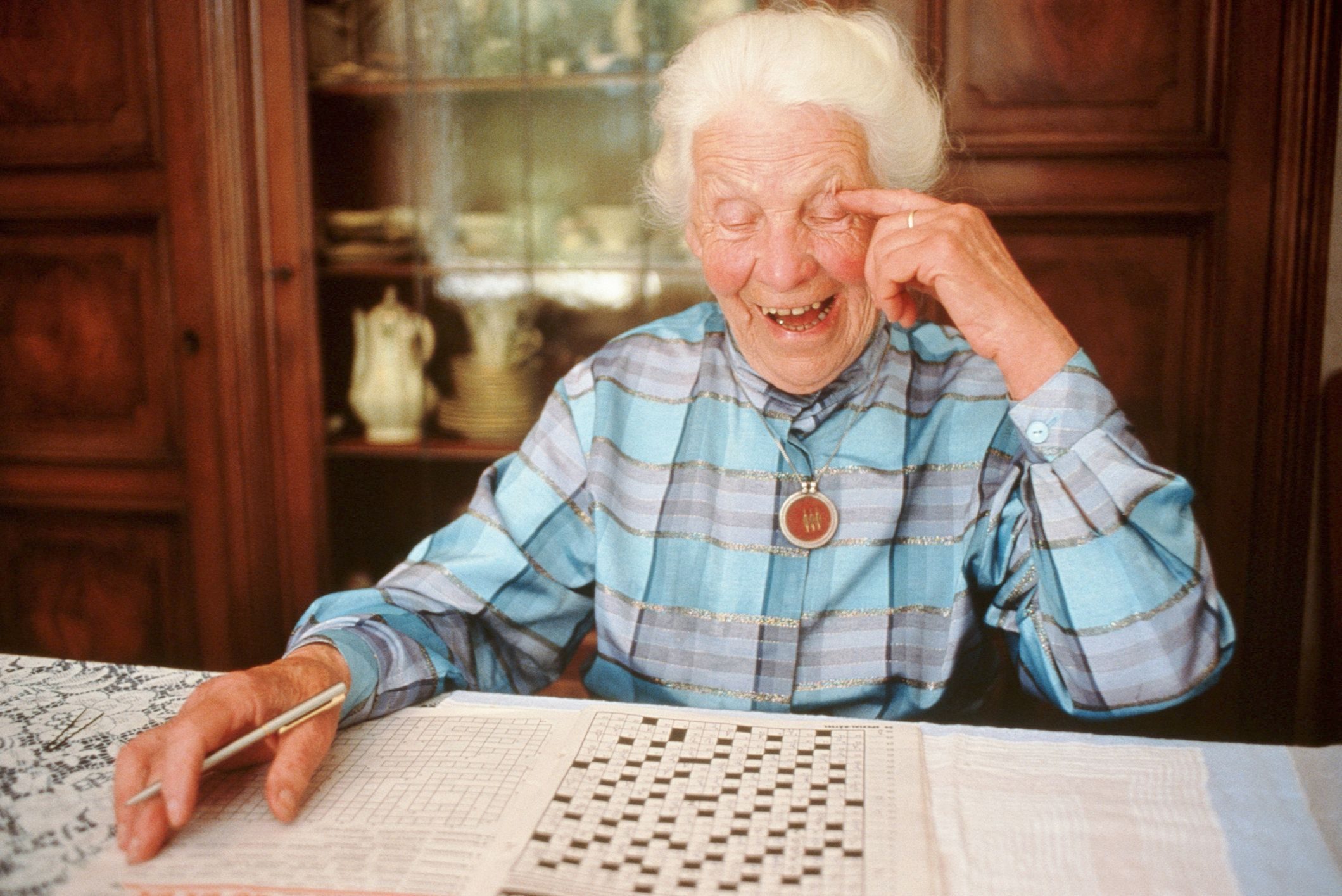 Researchers Would Love To Know Why Some Older People Have Such Excellent