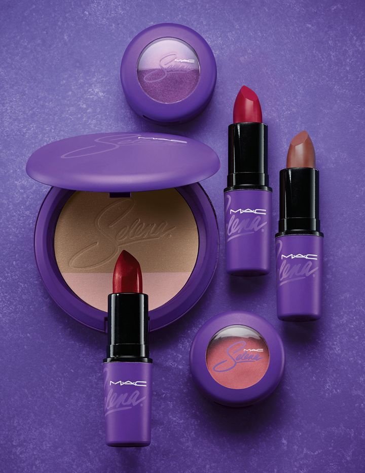 A few of the offerings from MAC/Selena.