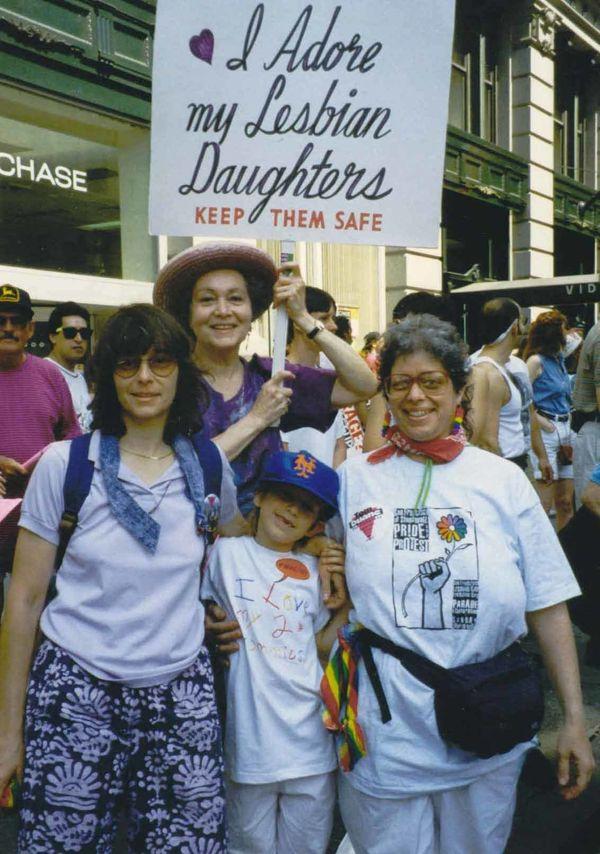 Reeni and Frances at Pride